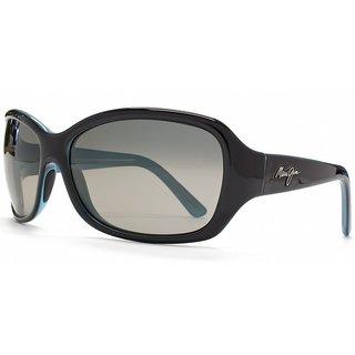 Maui Jim Unisex 'Pearl City' Polarized Rectangle Sunglasses
