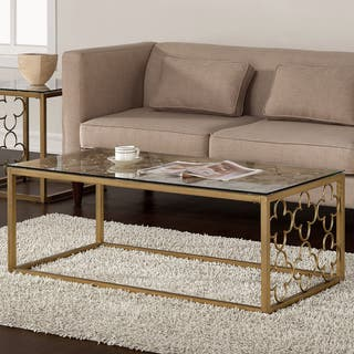 Glass Living Room Furniture For Less | Overstock.com