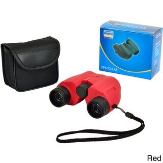 High Grade Sports Optics Compact 6x22 Binoculars (Option: Red)