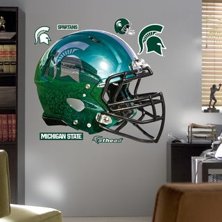 Fathead Michigan State Chrome Helmet Wall Decals