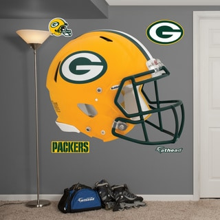 Fathead Green Bay Packers Helmet Wall Decals