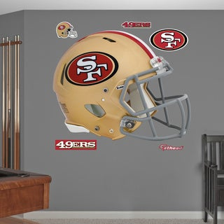 Fathead San Francisco 49ers Helmet Wall Decals