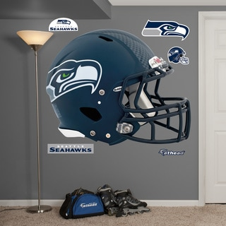 Fathead Seattle Seahawks Helmet Wall Decals