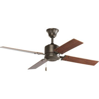 Progress Lighting North Park 52-inch 4-blade Antique Bronze Ceiling Fan