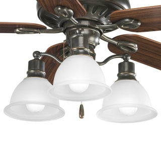 Progress Lighting Madison Collection 3-light Antique Bronze Ceiling Light