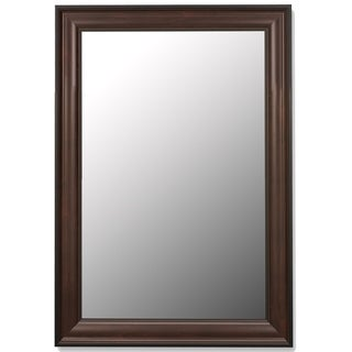 Traditional Mahogany Black Framed Wall Mirror