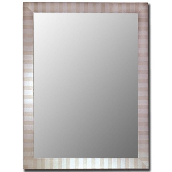 Parma Silver Framed Wall Mirror