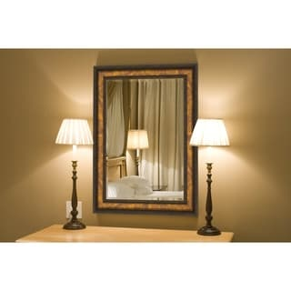 Hitchcock Butterfield Tuscan Villa Large Copper Mirror