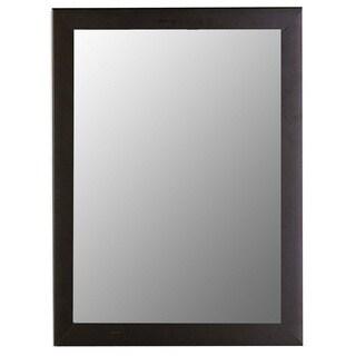 Satin Black Framed Wall Mirror