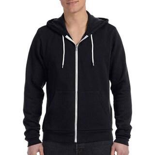 Men's Poly/ Cotton Fleece Full-zip Hoodie