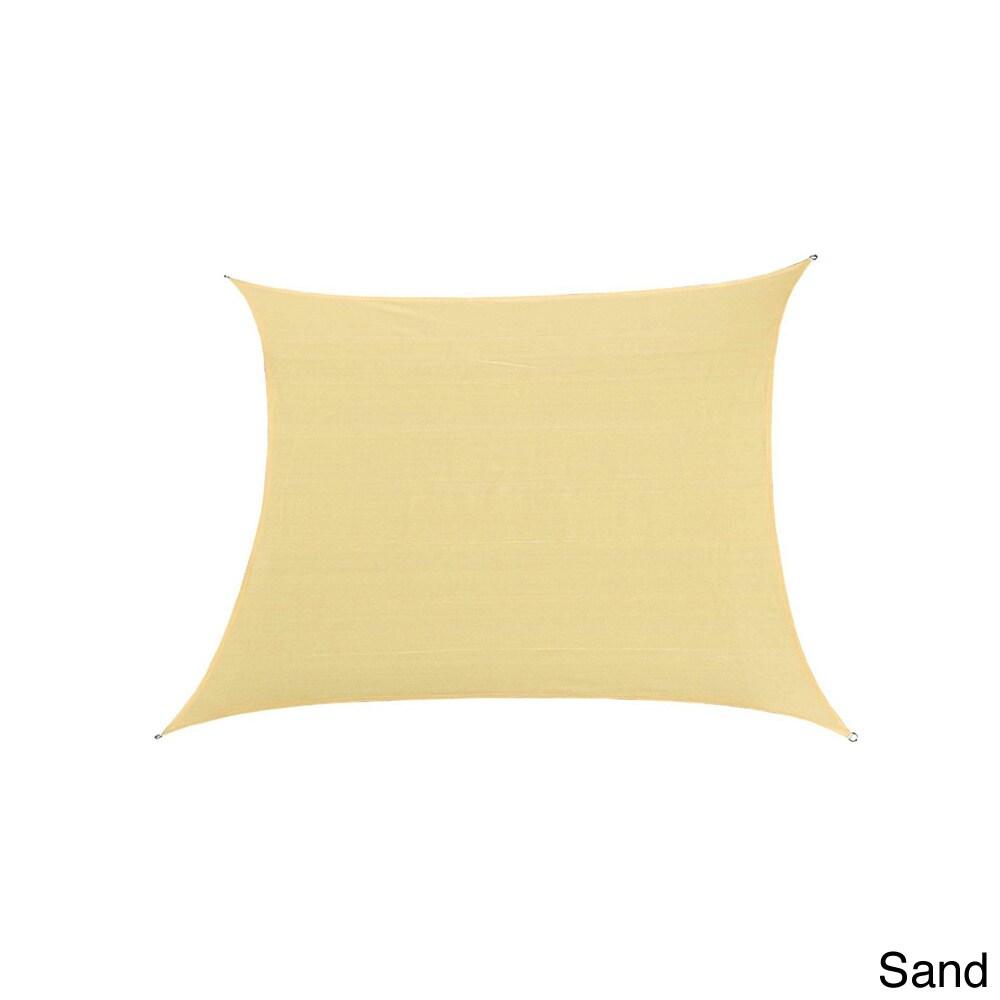 Cool Area Oversized Patio Sun Shade (16.5' x 16.5') (Sand...