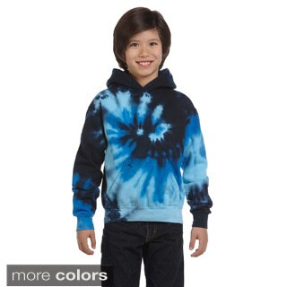 Youth Tie-dyed Pullover Hoodie (5 options available)