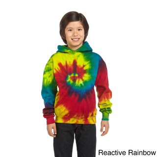 Youth Tie-dyed Pullover Hoodie (4 options available)