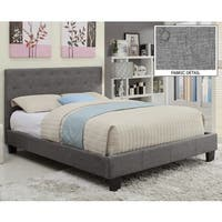 Clay Alder Home University Sutton Tufted Linen Platform Bed