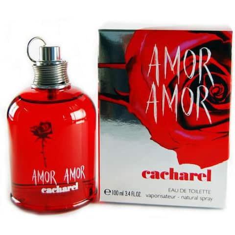 Cacharel Amor Amor Women's 3.4-ounce Eau de Toilette Spray