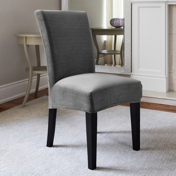 Maude Stretch Dining Chair Slipcover - Free Shipping On Orders Over $