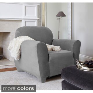 QuickCover Maude One-piece Stretch Chair Slipcover (2 options available)