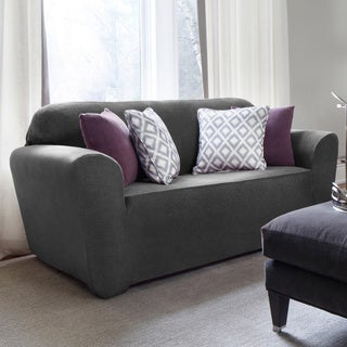 QuickCover Maude One-piece Stretch Loveseat Slipcover (3 options available)