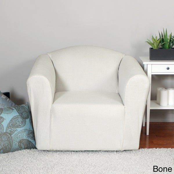 QuickCover Montgomery One-piece Chair Stretch Slipcover ...