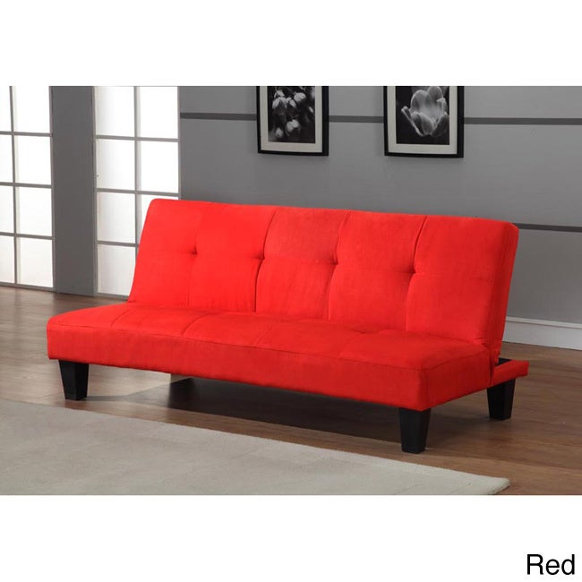 K and B Furniture Co Inc Klik-Klak Tufted 2-position Sofa...