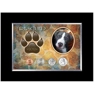 American Coin Treasures Rescued Year To Remember Dog Coin Frame