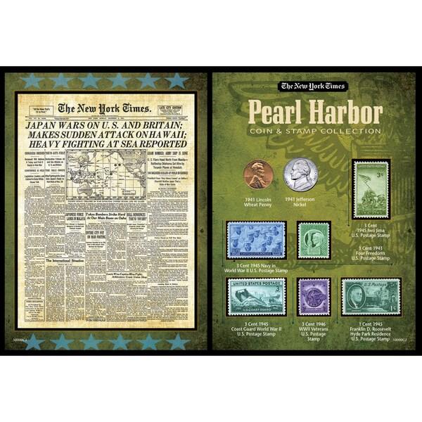 American Coin Treasures New York Times Pearl Harbor Portfolio
