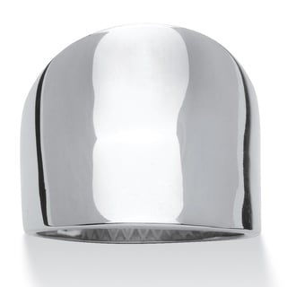 Stainless Steel Concave Cigar Band Tailored