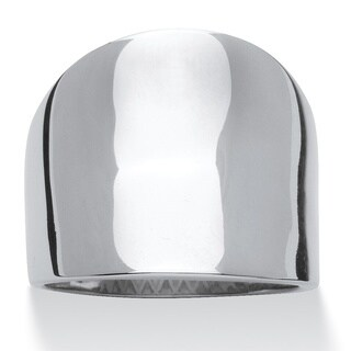 Stainless Steel Concave Cigar Band Tailored (4 options available)