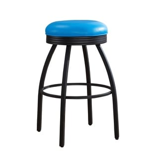 Sadie 30-inch Blue Bar Stool