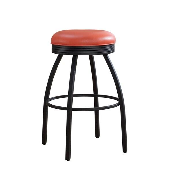 Sadie Orange Counter Height Bar Stool