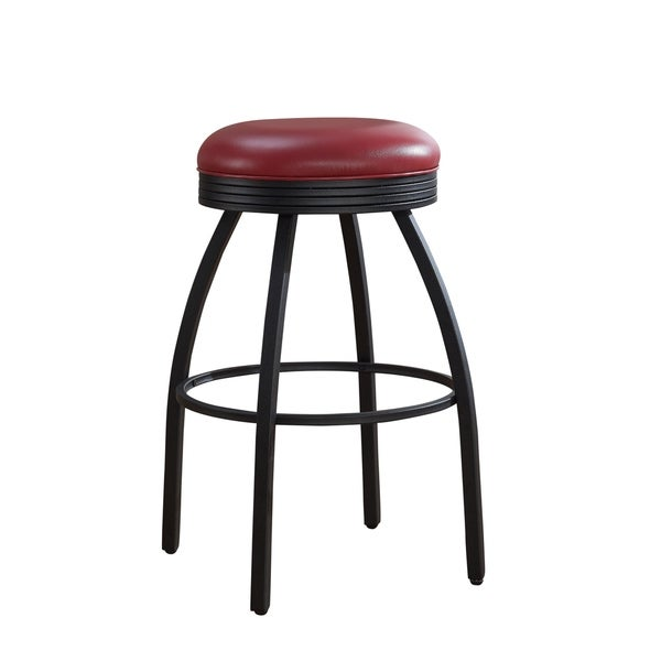 Sadie 26 Inch Red Counter Height Stool