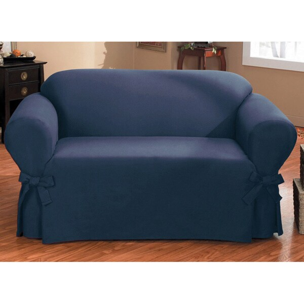 Quickcover Duck One Piece Relaxed Fit Loveseat Slipcover