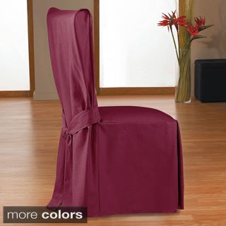 Classic Slipcovers Velvet Dining Chair Slipcover Set Of 2