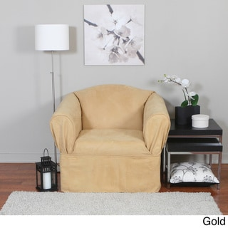 Bruce One-piece Relaxed Fit Wrap Chair Slipcover