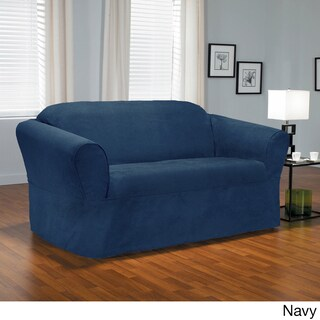 QuickCover Bruce One-piece Relaxed Fit Wrap Sofa Slipcover (2 options available)