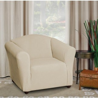 Piccadilly One-piece Stretch Chair Slipcover
