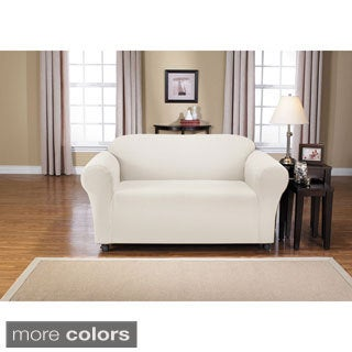 QuickCover Montgomery One-piece Loveseat Stretch Slipcover