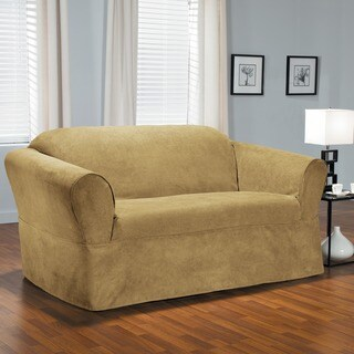 QuickCover Bruce One-piece Relaxed Fit Wrap Loveseat Slipcover