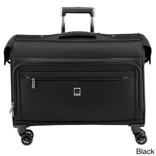 delsey helium x 39 pert lite 2 0 22 inch carry on spinner garment bag free shipping today. Black Bedroom Furniture Sets. Home Design Ideas