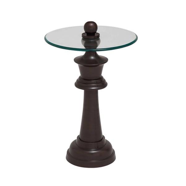 Casa Cortes Elation Round Pedestal Accent Table