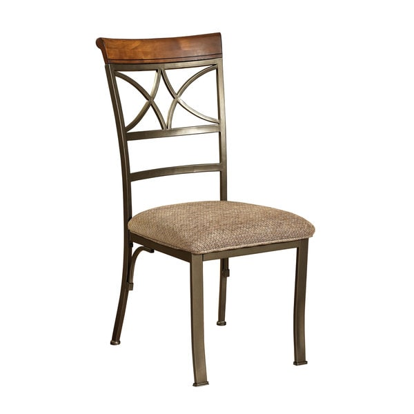 Shop Powell Metal Eden Dining Chair Set Of 2 Free