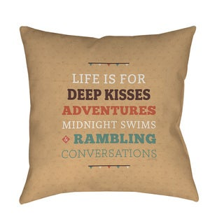 Kiss Me Mix Amp Match Gray Throw Pillow Free Shipping On