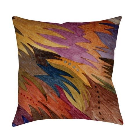 Autumn Flight Throw/ Floor Pillow