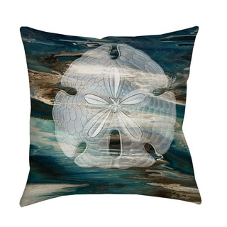 Thumbprintz Coastal Span II Throw/ Floor Pillow