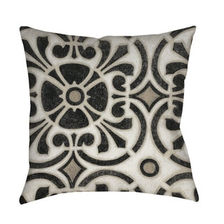 Thumbprintz Moroccan Symbol II Throw/ Floor Pillow