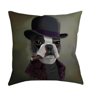 Thumbprintz BT Bowler Hat Throw/ Floor Pillow