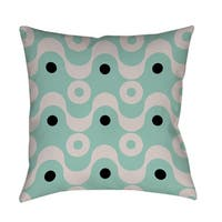 Fifties Patterns II Throw/ Floor Pillow