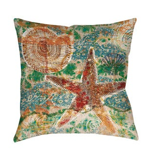Coastal Motif I Throw/ Floor Pillow