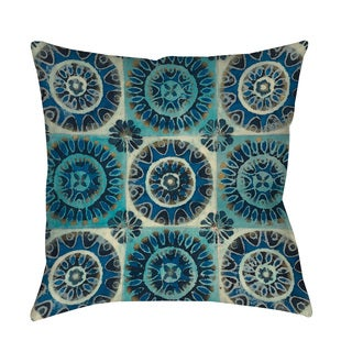 Floral Tile Suzani Floor Pillow
