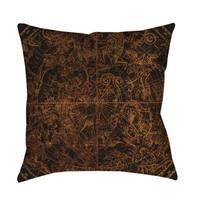 Northern Celestial Sphere Vintage Floor Pillow